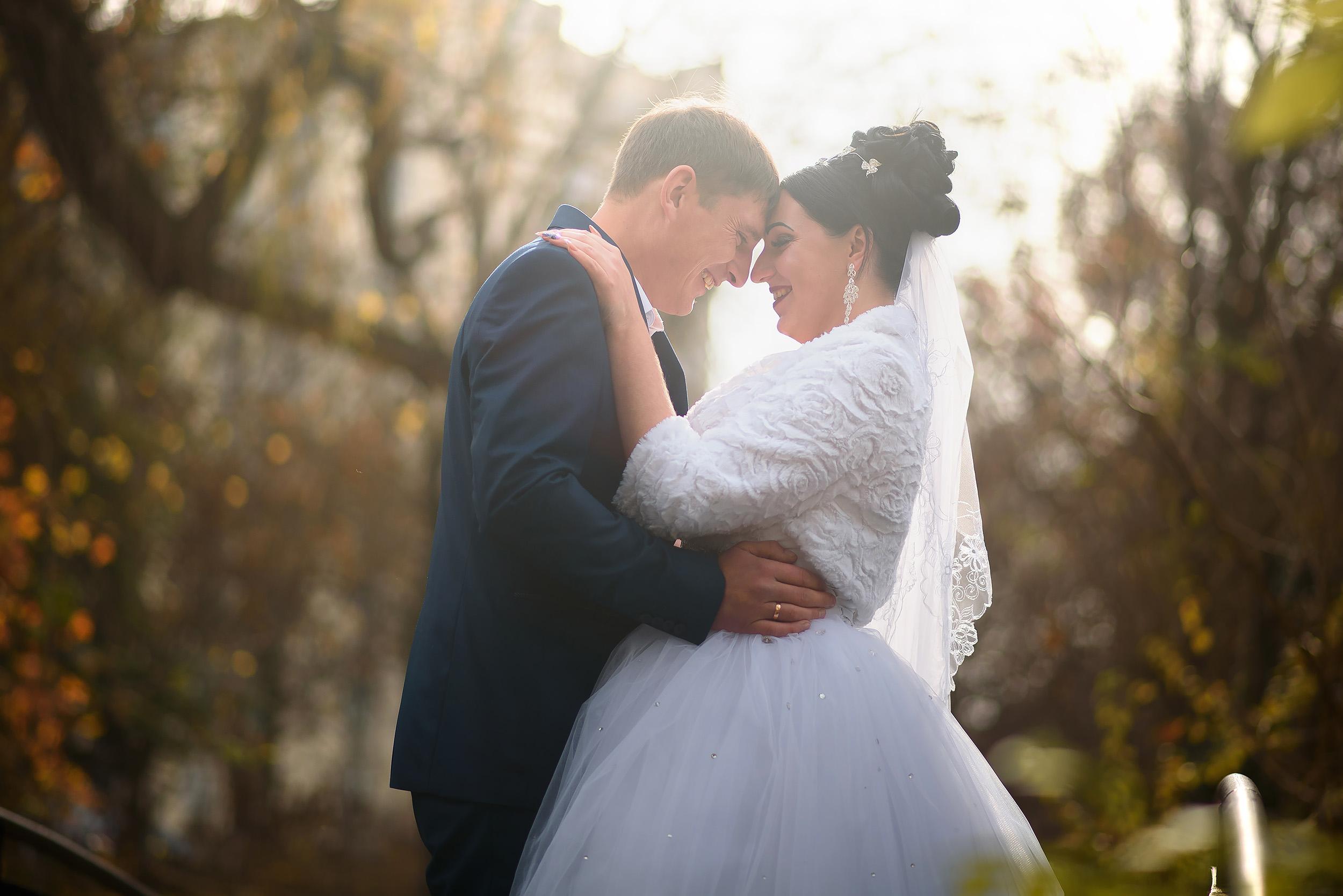 Свадебная фотосессия в Гагаринском парке