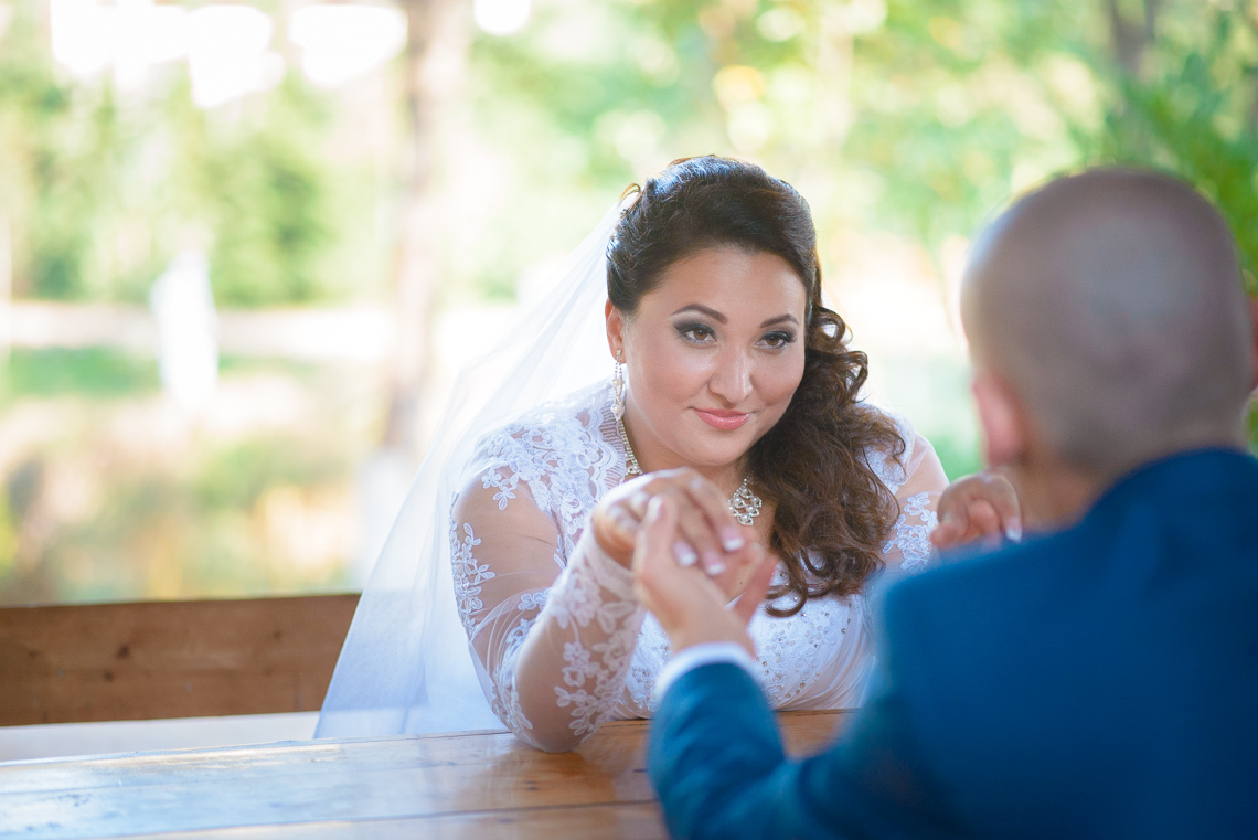 Свадебная фотосессия в Бахчисарае Дианы и Сенавера