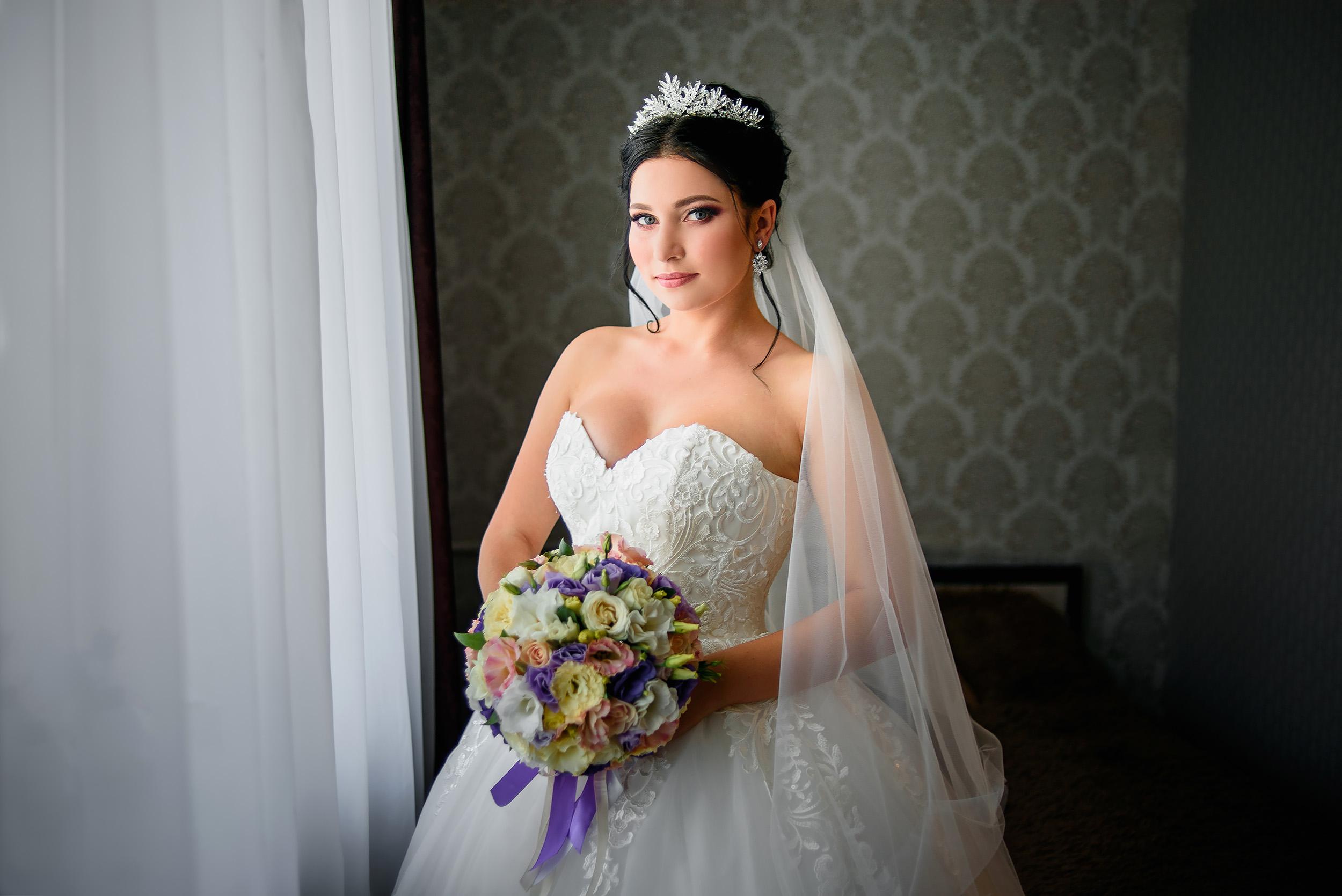 Свадебная фотосессия на скалах в Симферополе Кристины и Вячеслава