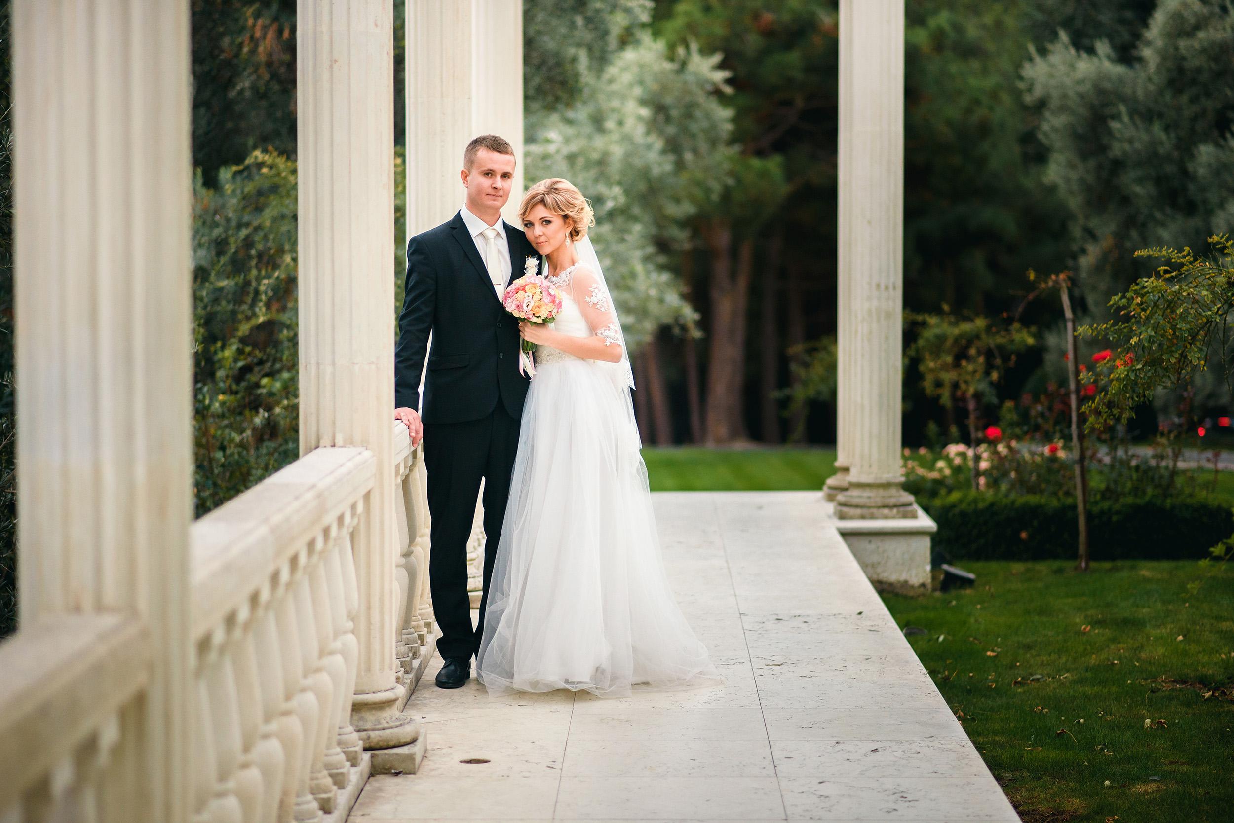 Свадебная фотосессия в Партените Марианны и Алексея