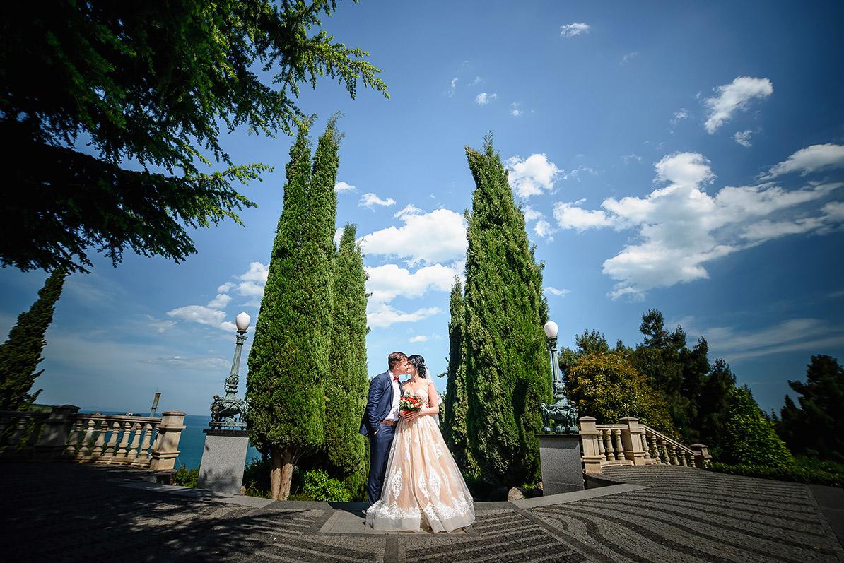Свадебная фотосессия в Симферополе Маргариты и Руслана