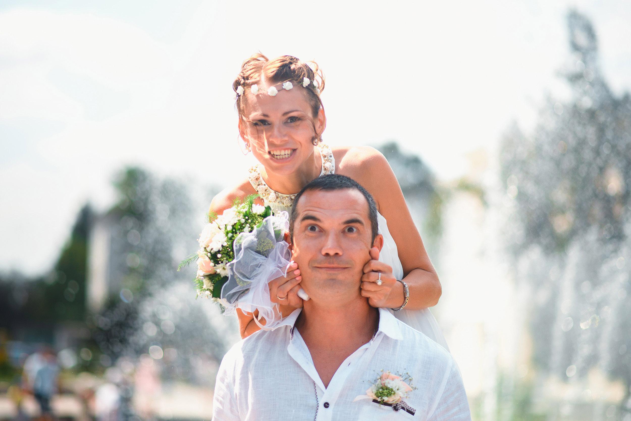 Свадебная фотосессия в Рыбацкой деревни Марины и Петра