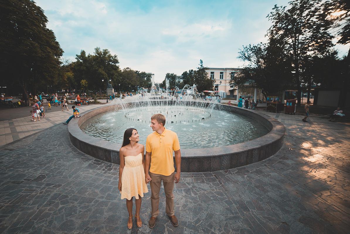 Love-story в Симферополе Александра и Ираиды